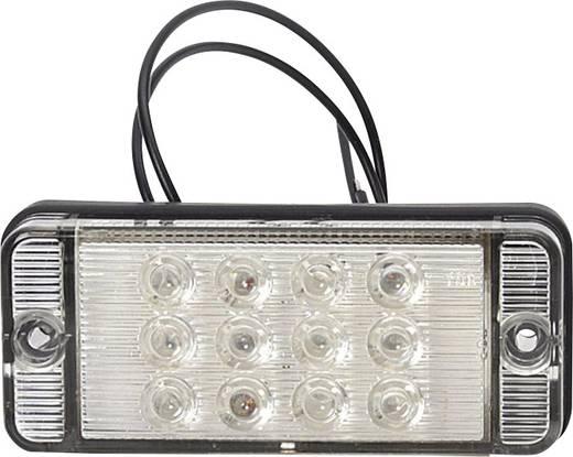 Hochleistungs-LEDs Nebelschlussleuchte Nebelschlussleuchte hinten 12 V, 24 V Rot SecoRüt Klarglas