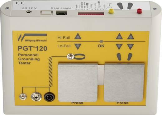 ESD-Testgeräte-Set Wolfgang Warmbier PGT®120 Personenerdung inkl. Fußplatte, inkl. Werkskalibrierschein