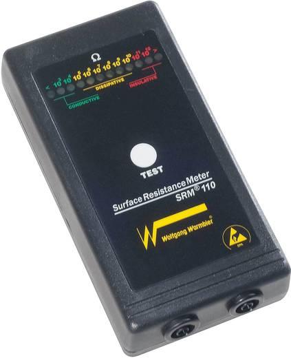 ESD-Testgeräte-Set Wolfgang Warmbier SRM®110 Oberflächenwiderstand, Ableitwiderstand inkl. Aufbewahrungstasche, inkl. Er