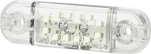 Hochleistungs-LEDs Umriss-Markierungsleuchte Markierungsleuchte vorne 12 V, 24 V Weiß SecoRüt Klarglas