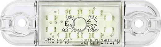 SecoRüt Hochleistungs-LEDs Umriss-Markierungsleuchte Markierungsleuchte vorne 12 V, 24 V Weiß Klarglas