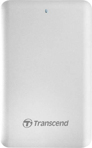 Transcend StoreJet SJM500 Externe Apple Mac SSD-Festplatte 6.35 cm (2.5 Zoll) 1 TB Silber USB 3.0, Thunderbolt