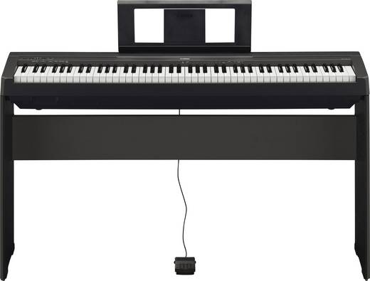 Digital-Piano Yamaha P-45B Schwarz inkl. Netzteil