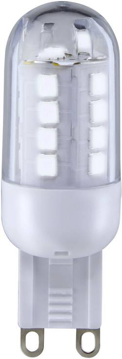 Ampoule LED G9 Sygonix 9283c85b à broches 3 W=25 W blanc froid (Ø x L) 19.50 mm x 59 mm EEC: classe A+ 1 pc(s)