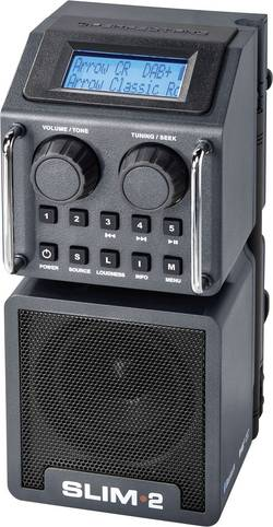 Outdoorové DAB+ rádio PerfectPro Slim 2, FM, RDS