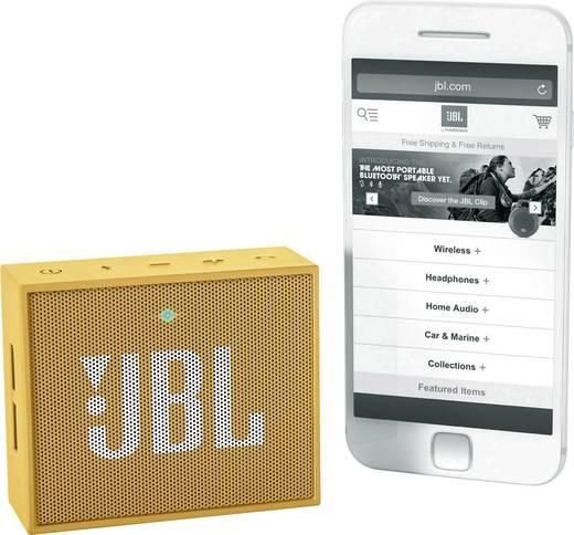 Bluetooth® Lautsprecher JBL Harman Go Freisprechfunktion Gelb