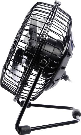 Tischventilator Akasa AK-UFN01-BK (B x H x T) 150 x 160 x 85 mm