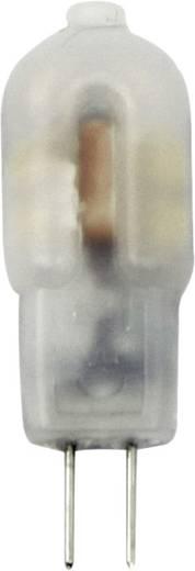 LightMe LED G4 Stiftsockel 1.2 W = 12 W Warmweiß (Ø x L) 12 mm x 35 mm EEK: A++ 1 St.