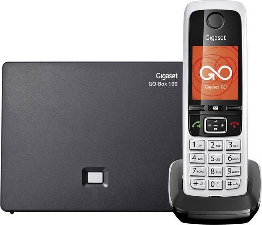 Schnurloses Telefon VoIP Gigaset C430A GO Anrufbeantworter, Freisprechen, Headsetanschluss Farb-TFT/LCD Schwarz/Silber
