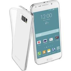 Zadný kryt na mobil Cellularline Clear Duo Backcover, vhodný pre: Samsung Galaxy S6, priehľadná