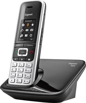 Modernes DECT-Telefon mit Basisstation und Mobilteil