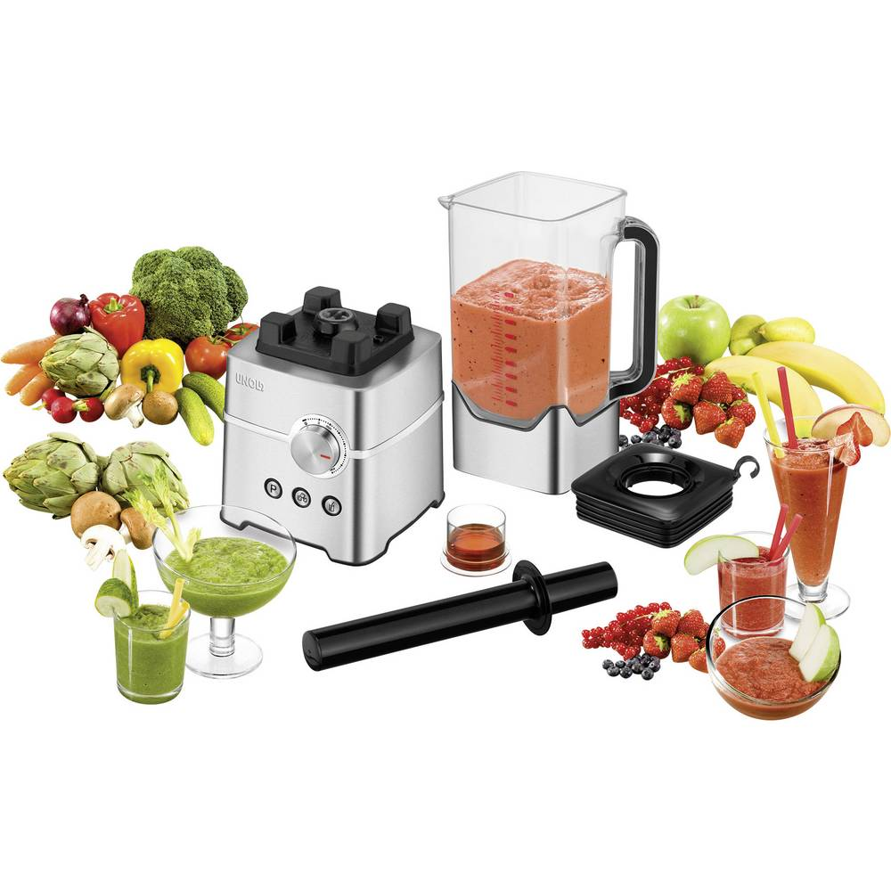 smoothie maker unold power smoothie maker 2000 w edelstahl schwarz im conrad online shop 1339530. Black Bedroom Furniture Sets. Home Design Ideas