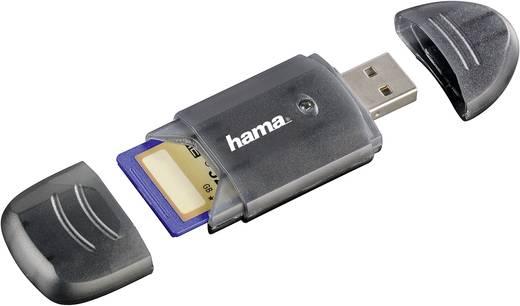 Externer Speicherkartenleser USB 2.0 Hama 114731 Anthrazit