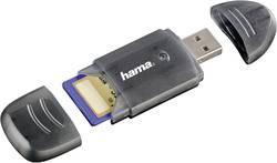 Image of Externer Speicherkartenleser USB 2.0 Hama 114731 Anthrazit