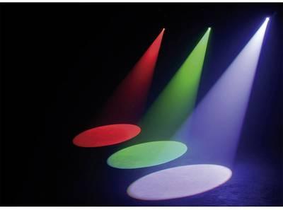 Pinspot LED ADJ QUAD DMX Numero di LED: 4 x 2 W Nero