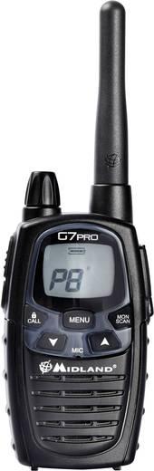 Midland G7 Pro Single C1090.08 PMR/LPD-Handfunkgerät