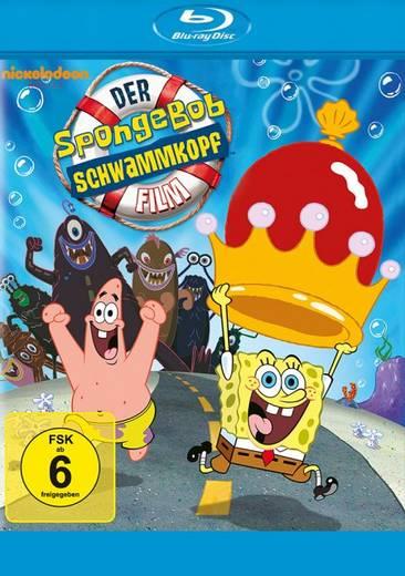 blu-ray Der SpongeBob Schwammkopf Film FSK: 6
