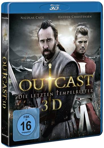 blu-ray 3D Outcast Die letzten Tempelritter 3D FSK: 16