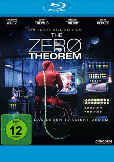 blu-ray The Zero Theorem FSK: 12