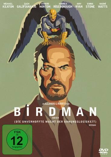 DVD Birdman oder (Die unverhoffte Macht der Ahnungslosigkeit) FSK: 12