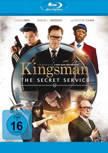 blu-ray Kingsman The Secret Service FSK: 16