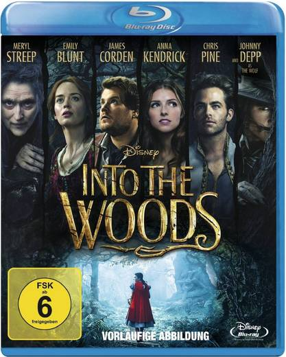 blu-ray Into the Woods FSK: 6