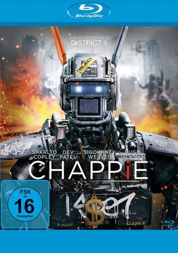 blu-ray Chappie FSK: 16