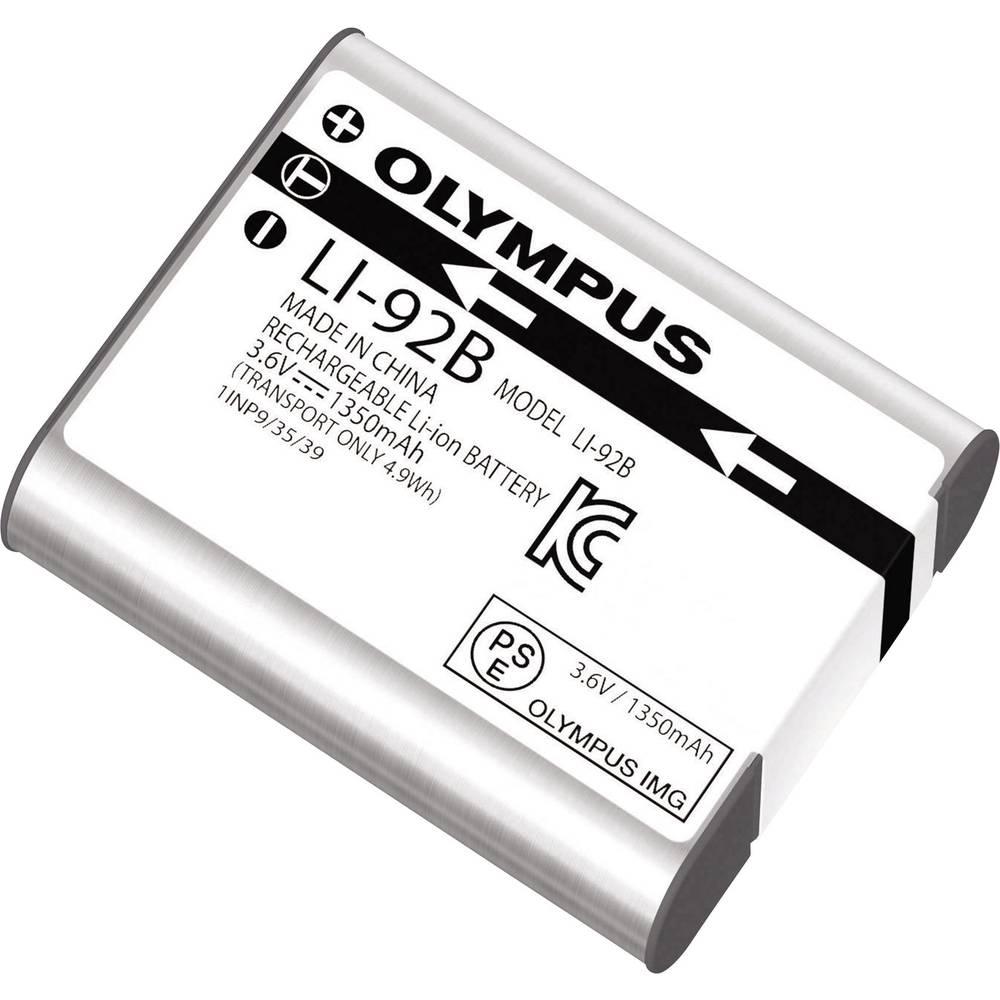 Camera-accu Olympus Li-90B, Li-92B 3.6 V 1350 mAh LI-92B