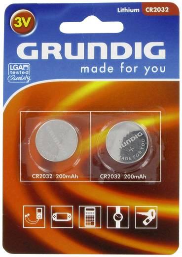 Knopfzelle CR 2032 Lithium Grundig CR2032 200 mAh 3 V 2 St.