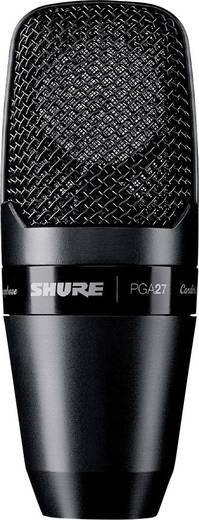 Studiomikrofon Shure PGA27-LC Übertragungsart:Kabelgebunden inkl. Klammer, inkl Spinne, Metallgehäuse