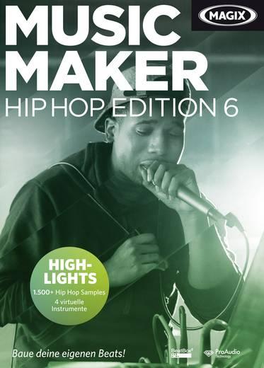 Magix Music Maker Hip Hop Edition 6 Vollversion, 1 Lizenz Windows Musik-Software