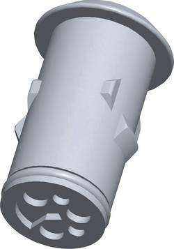 Zásuvkové púzdro na kábel TE Connectivity Econoseal Serie E 826884-2, 30.5 mm, pólů 2, 1 ks