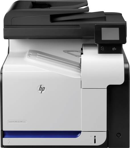 HP LaserJet Pro 500 Color MFP M570dn Farblaser-Multifunktionsdrucker A4 Drucker, Scanner, Kopierer, Fax LAN, Duplex, ADF