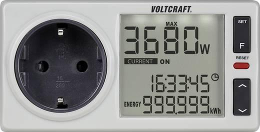 VOLTCRAFT 4500 PRO DE Energiekosten-Messgerät integrierte Kindersicherung, Stromtarif einstellbar, integrierter Pufferak