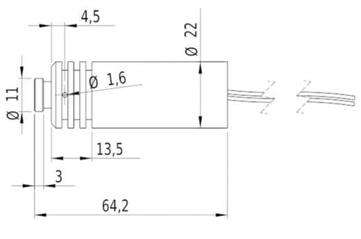 Lasermodul Punkt Blau 12 mW Picotronic DE405-12-6(22x65)