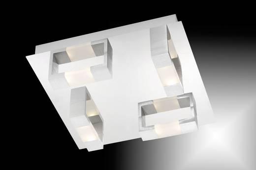 LED-Deckenleuchte 19.2 W Warm-Weiß Paul Neuhaus Kemos 2198-96 Aluminium