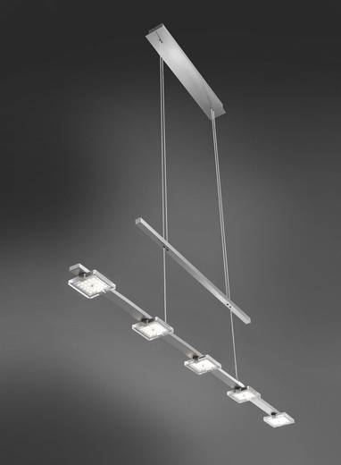 LED-Pendelleuchte 20 W Warm-Weiß Paul Neuhaus Daan 2445-17 Chrom