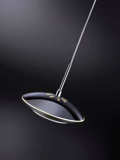 LED-Pendelleuchte 15 W Warm-Weiß Paul Neuhaus Tebutt 2702-17 Chrom