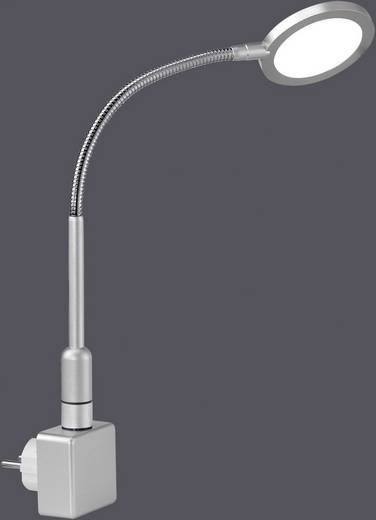 LED-Steckdosenlampe 3 W Warm-Weiß Paul Neuhaus Juby 4139-55 Stahl
