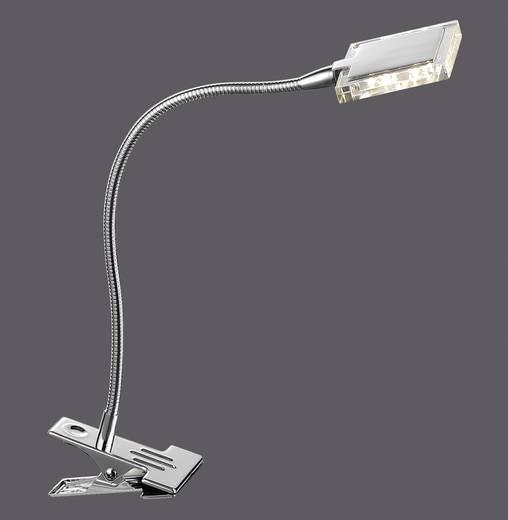 LED-Klemmleuchte 4 W Warm-Weiß Paul Neuhaus Daan 4441-17 Chrom