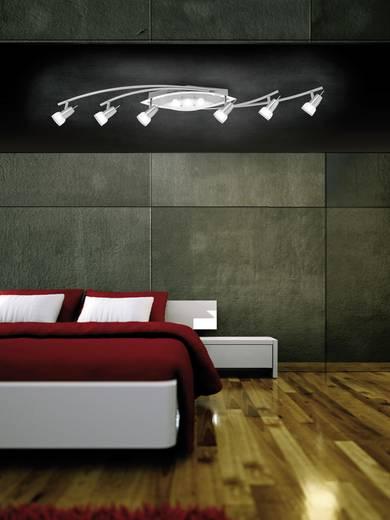 LED-Deckenstrahler 27 W Warm-Weiß Paul Neuhaus Meral 6174-55 Stahl