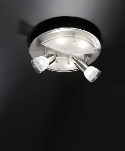 LED-Deckenstrahler 18 W Warm-Weiß Paul Neuhaus Meral 6178-55 Stahl