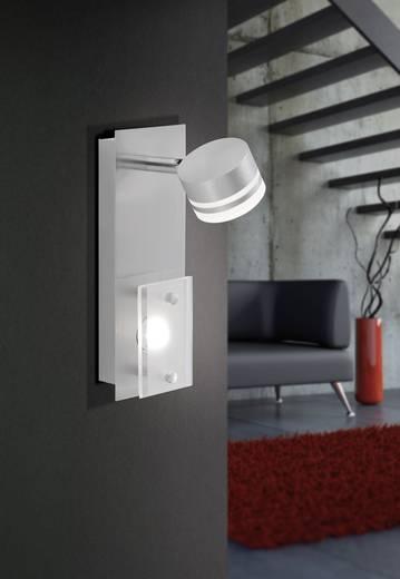 LED-Wandstrahler 6.6 W Warm-Weiß Paul Neuhaus Trilok 6315-55 Stahl