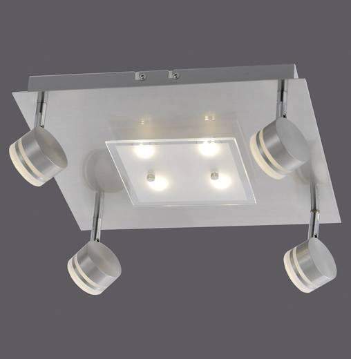 LED-Deckenstrahler 26.4 W Warm-Weiß Paul Neuhaus Trilok 6347-55 Stahl
