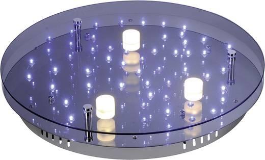 LED-Deckenleuchte 17.2 W Warm-Weiß, Blau Paul Neuhaus Nightsky 2 6455-17 Chrom