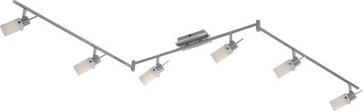 Deckenstrahler LED GU10 EEK: A+ (A++ - E) 24 W Paul Neuhaus Acura 6838-55 Stahl