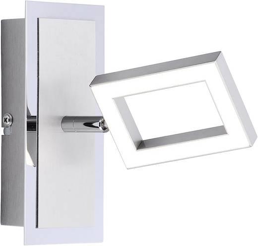 LED-Wandstrahler 5 W Warm-Weiß Brilliant Inigo 6957-55 Stahl