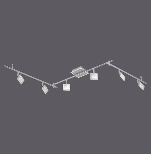 LED-Deckenstrahler 24 W Warm-Weiß Paul Neuhaus Daan 6966-17 Chrom