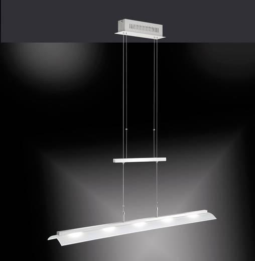 led pendelleuchte 15 w warm wei paul neuhaus curve 8058 55 stahl kaufen. Black Bedroom Furniture Sets. Home Design Ideas