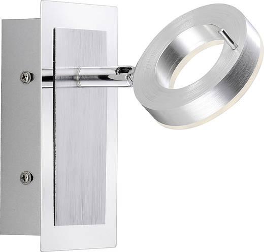 LED-Wandstrahler 6 W Warm-Weiß Paul Neuhaus Sileda 9785-96 Aluminium (matt)